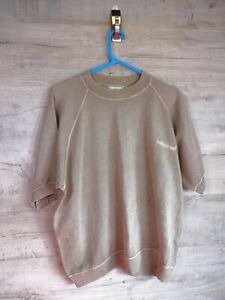 VTG-90s-80s-Norton-Wilson-Grafik-Sweatshirt-Sweater-Pullover-REFA-8-Gross-Ubergroesse