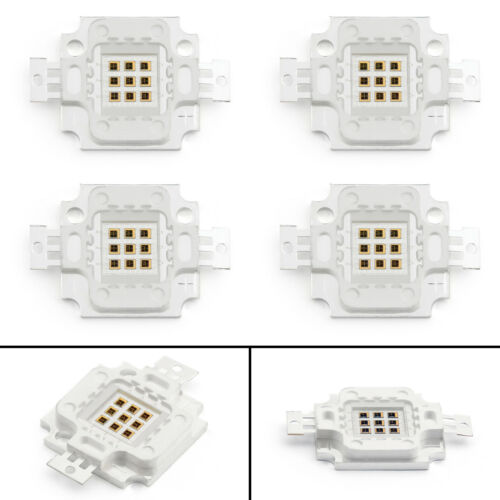 Colors UE 10W LED Bright Integrated Chip High Power Bulb Floodlight Emitting 22