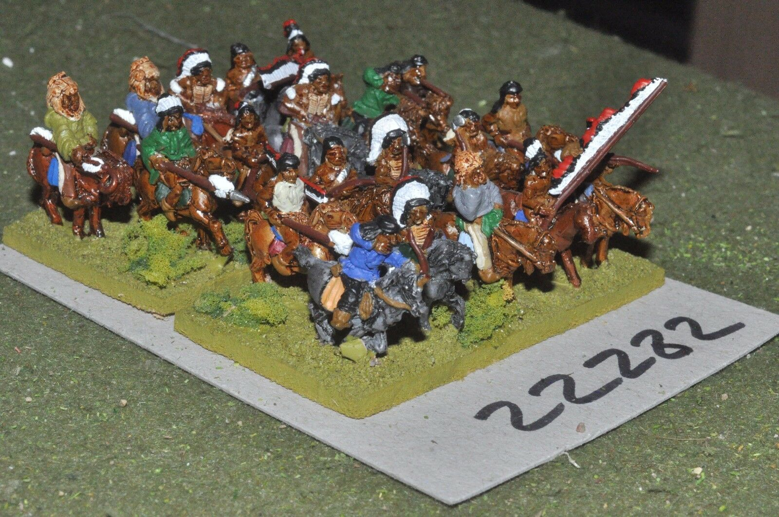 15mm ACW   indian - old west warriors 20 figures cavalry - cav (22282)