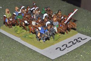 15mm Acw / Indian - Old West Warriors Cavalerie Cavalerie à 20 chiffres (22282)