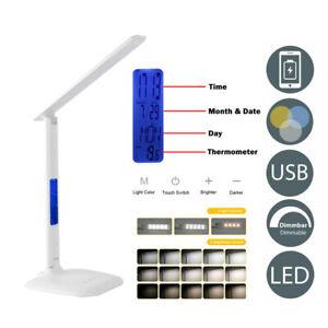 LED-Schreibtischlampe-Tischleuchte-4-in1-Leselampe-dimmbar-Tischlampe-Nachttisch