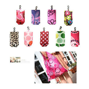Hot Foldable Handy Shopping Bag Reusable Tote Pouch Recycle Storage Handbags