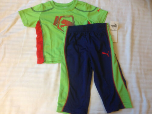 Piece set Tee and Pants Sz 12M 18M 24M NWT Puma Baby Boys Toddler and Infant 2
