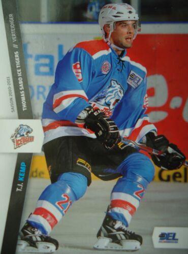 251 T.J Kemp Nürnberg Ice Tigers DEL 2010-11