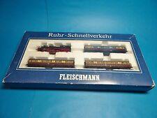 FLEISCHMANN N 7887 Digital: Ruhr-Schnellverkehr mit BR78 254 DRG Dampflok