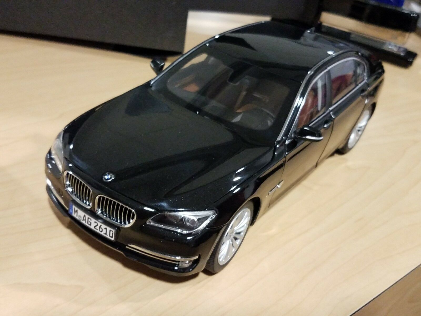 Bmw F02 750Li 1 18 scale model miniature voiture de collection Noir 80432360450
