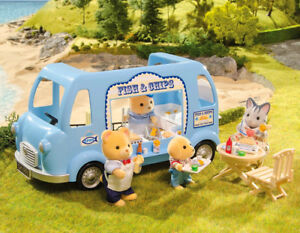 Sylvanian-Families-Calico-Critters-Fish-and-Chips-Van