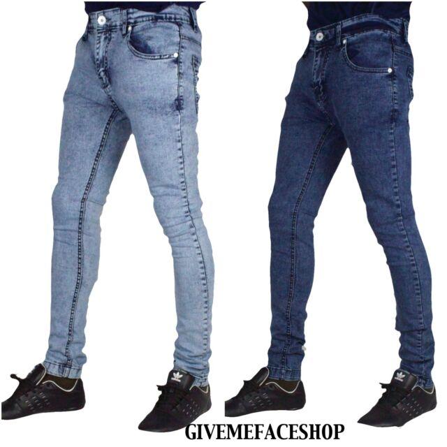 "slim straight rips hip grey /""rock-star/"" mens denim Peviani super club g jeans"