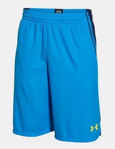 dcdb7748b6e Under Armour Mens UA Select Basketball Shorts L Large Electric Blue ...