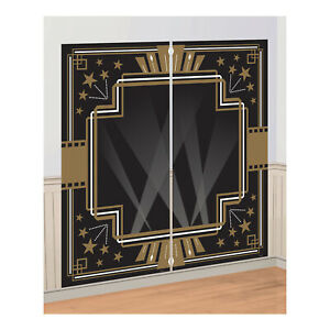 Image Is Loading Scene Setter HOLLYWOOD GLAM Birthday Party Prop Decoration