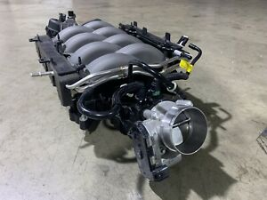 2018-2020-Mustang-Coyote-5-0-Intake-Manifold-Injectors-Rails-Throttle-Body