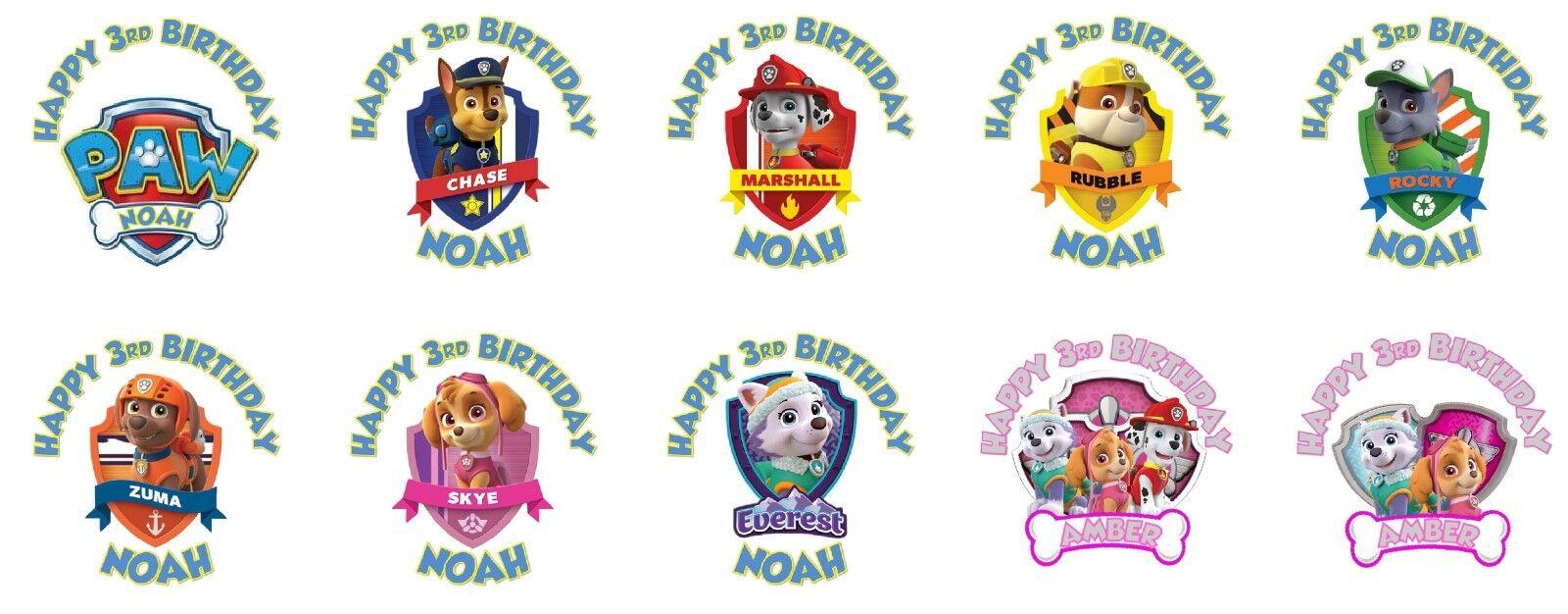 10 bolsas Paw Patrol sticker-serie 3-listo para uso 2019-1 album