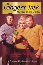 The Longest Trek : My Tour of the Galaxy by Grace Lee Whitney and Jim Denney (1998, Paperback)