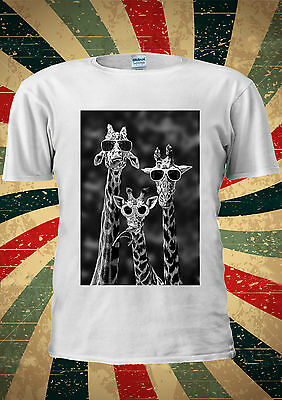 Sun Glasses Giraffe Funny Giraffa Camelopard T Shirt Men Women Unisex 1821