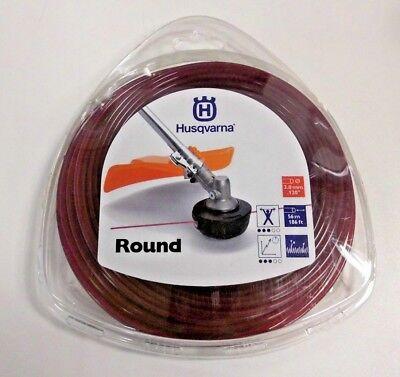 1 X Husqvarna Mähfaden Round 5784381-01 Rund 3,0 Mm Rot 56 M Neu Ovp Niedriger Preis