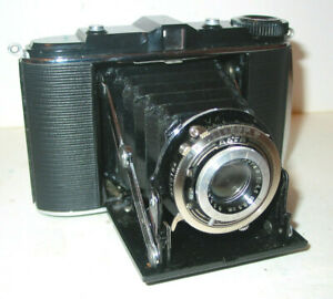 AGFA ISORETTE 4,5X6 + 6X6 ROLLFILMKAMERA MIT APOTAR 4,5/85 OBJEKTIV C 1937