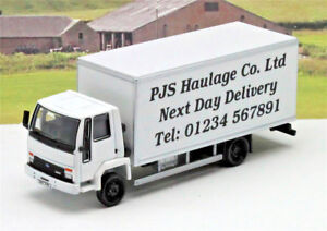 68b01512bb Personalised Any Name Message White Ford Cargo Box Van Lorry Truck ...