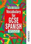 Vocabulary for GCSE Spanish by Geoffrey Taylor (Paperback, 2002)