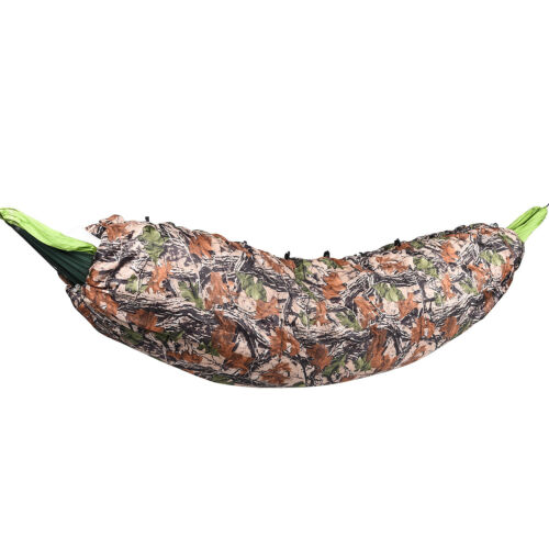 Ultralight CAMOUFLAGE Full Length Sleeping Hammock Quilt Underquilt Backpacking