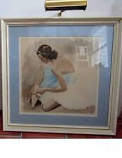 1960's J. D. VAN CAULAERT FRAMED PRINT -- very well framed