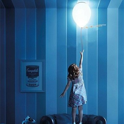 New Children's Balloon Flushmount Ceiling Light Novelty Minimalist Pendant Lamp