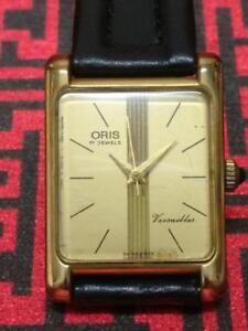 Rare Vintage Oris Versailles Ladies Manual Winding Watch  (TP351)