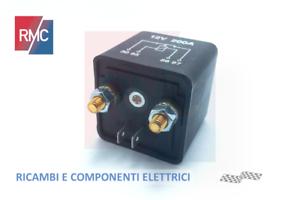 Rele-Rele-Relay-Alta-Potenza-12V-200A-amp-per-Batteria-Alternatore-Camper-Barca