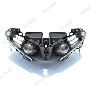 High Density ABS OEM Replacement Headlight Lamp Assembly for 07-08 Yamaha YZF R1