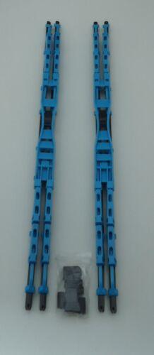 "20/"" Inch Blue Double Blade Windshield Wiper 2PC Set All Season"