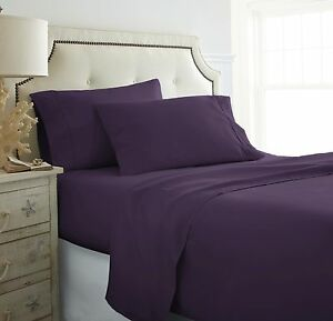Home-Collection-Extra-Soft-4-Piece-Bed-Sheet-Set-Deep-Pocket