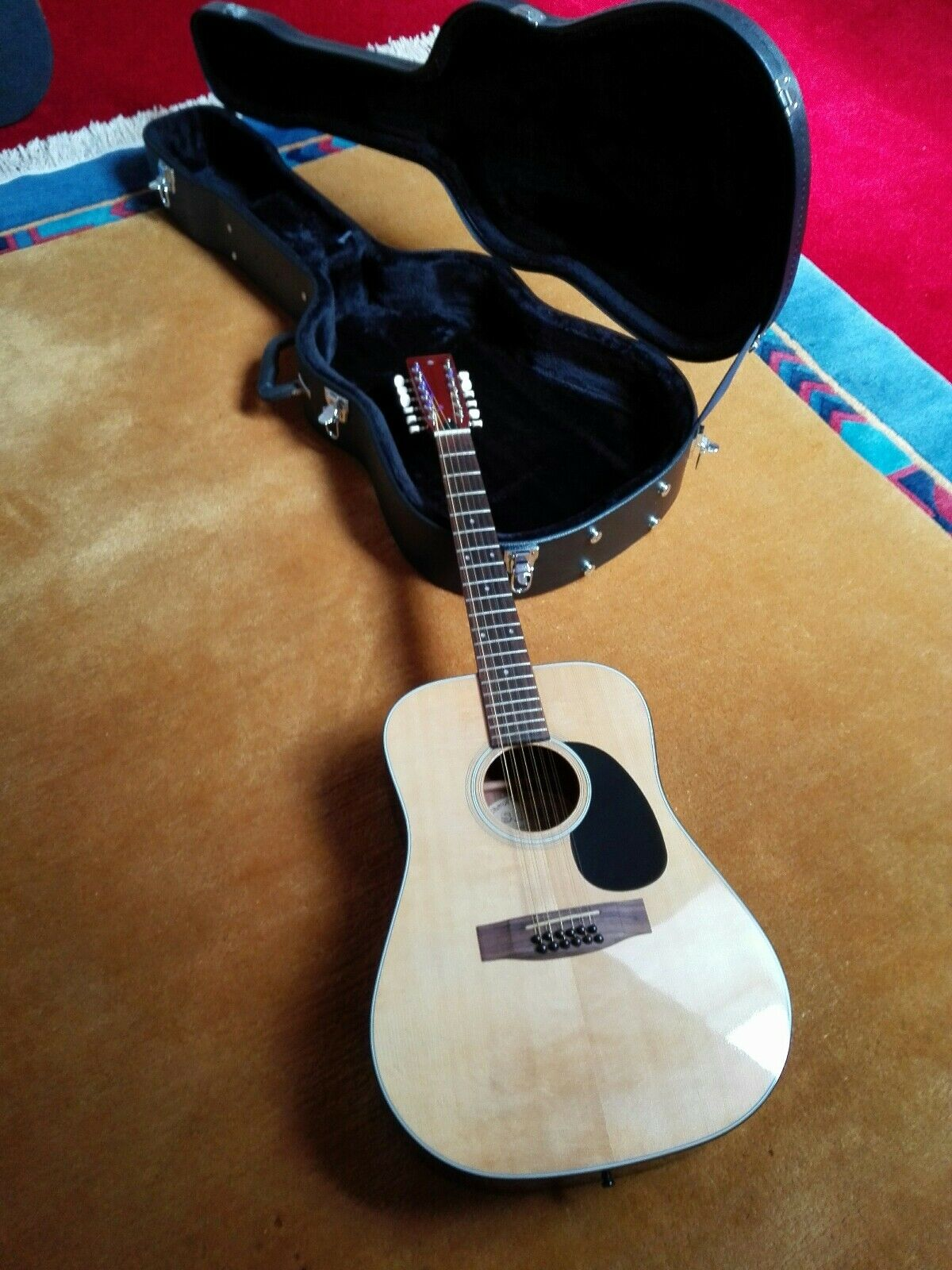 Vintage-Westerngitarre Shiro 12-saitig Rarität  - sehr guter Zustand inkl.Koffer