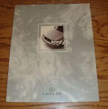 Original 1991 Lexus LS 400 Deluxe Sales Brochure 91