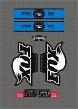 FOX RACING SHOX 32 SERIES FORK DECAL