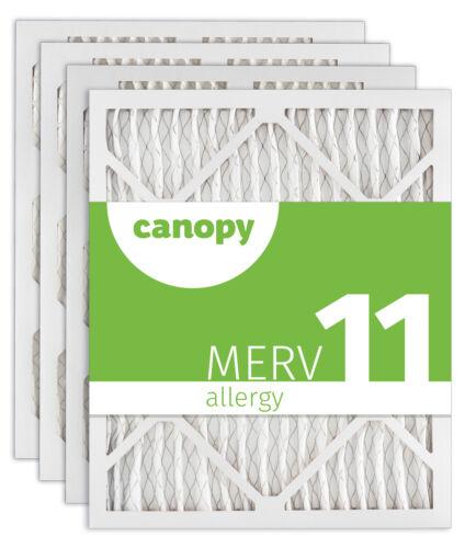 """16x24x1 Canopy Filters MERV 11 15 1//2/"""" x 23 1//2/"""" x 3//4/"""" Box of 4"""