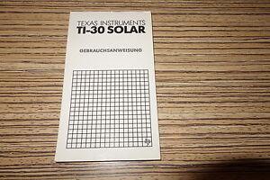 Anleitung-Texas-Instruments-Taschenrechner-TI30-Solar