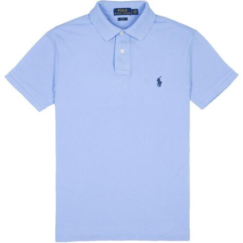 Harbour Blue Slim Fit S-XXL Ralph Lauren Men/'s Short Sleeved /'POLO/' Shirt