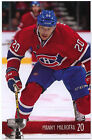 NEW 2014-15 MANNY MALHOTRA MONTREAL CANADIENS PLAYOFFS TEAM ISSUE POST CARD RARE