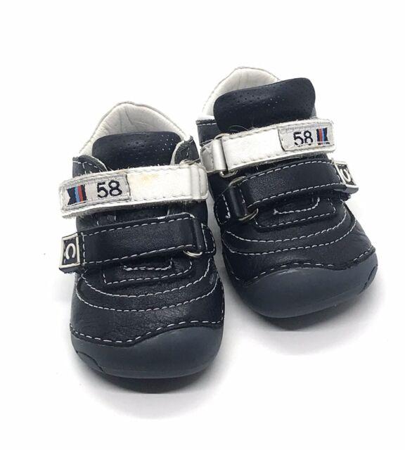 Chicco FLEXZONE Baby Boy Shoes Navy/White Size 2.5 | eBay