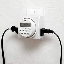 Refurbished weekly Heavy Duty Digital Electric Programmable Timer Switch lights