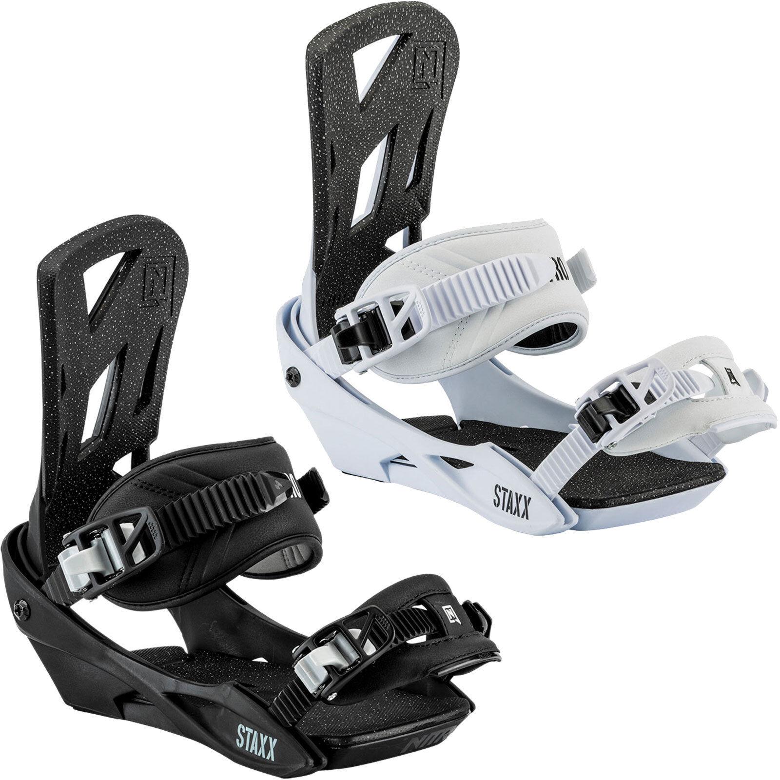 Nitro Staxx Men's Snowboarding all Mountain Freestyle Snowboard Binding New