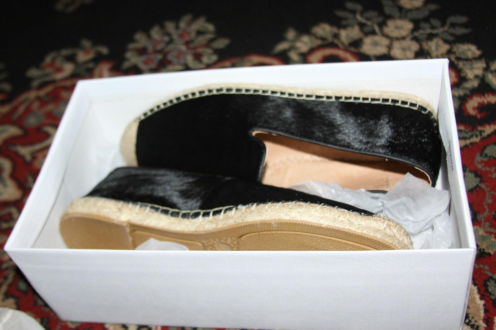 STEVE MADDEN MADDEN MADDEN ELANII schwarz PONY SLIP-ON Größe 8 db3945