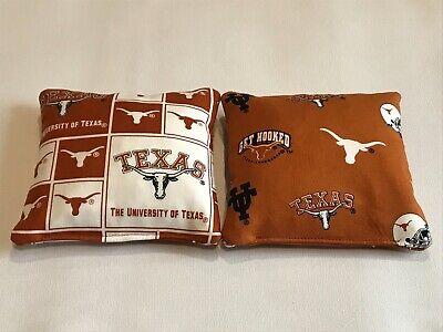 Texas Longhorns NCAA 8 Cornhole Bags