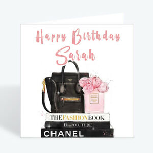 Image Is Loading Personalised Happy Birthday Card Grand Daughter Niece Female