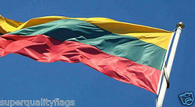 NEW 3x5 ft LITHUANIA LITHUANIAN FLAG better quality usa seller