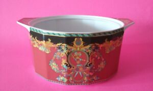 Versace-Vintage-90s-Collector-Sun-King-Le-Roi-Soleil-Open-Tureen-Vegetable-Bowl