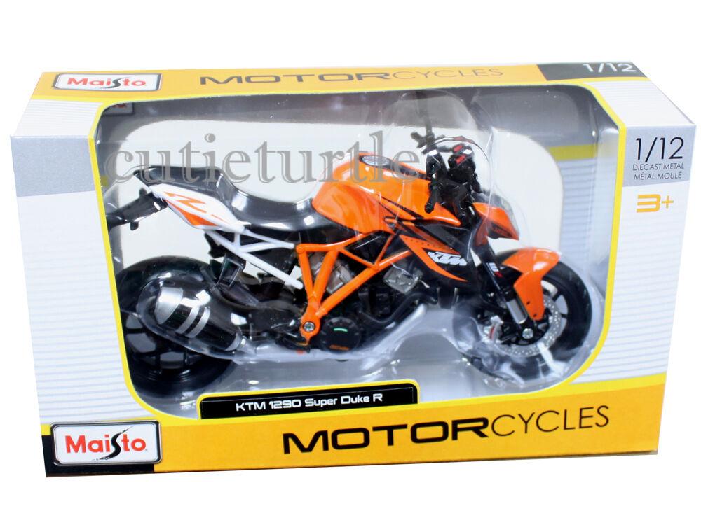 Ktm 1290 Super Duke R Orange Motorcycle Model 1 12 By Maisto 13065