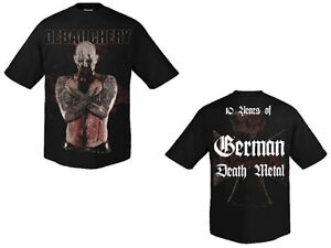 DEBAUCHERY-10-Years-of-German-Death-Metal-T-Shirt-Groesse-Size-M-Neu