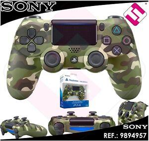 MANDO-PS4-DUALSHOCK-CAMUFLAJE-VERDE-ORIGINAL-PLAYSTATION-4-SONY-GREEN-WIRELESS
