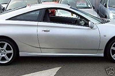 Brand New! Toyota Celica Gen 7 /'Dynamic/' Side Skirts//Sills//Rockers 1999-2005