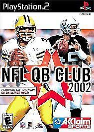 NFL QB Club 2002 Sony PlayStation 2, 2001  - $0.99